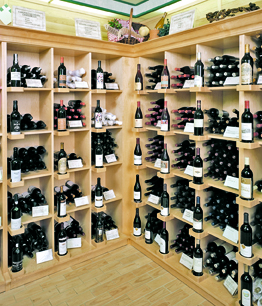 Wine And Liquor Wood Display Store Fixtures Newood Display Fixtures