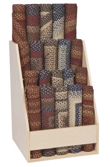 India Home Fashions Rug POP Unit.
